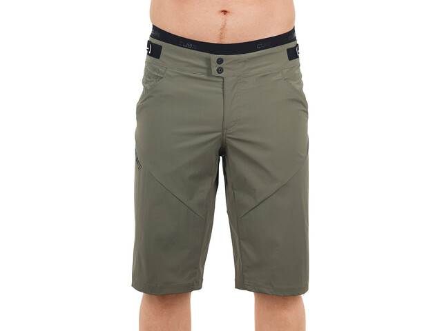 Cube AM Baggy Shorts Herren inklusive Innenhose olive